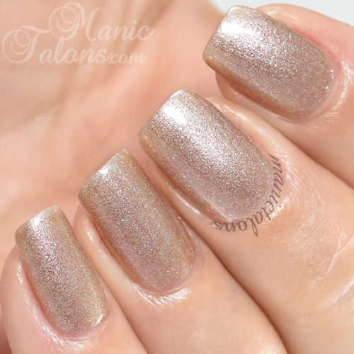 Madam Glam Gel Polish Just Like Sand Swatch