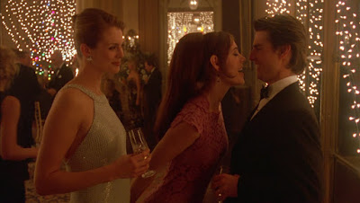 Bill enjoys his time with two beautiful guests at Ziegler's party,  Directed by Stanley Kubrick