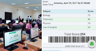 JAMB Releases 2017 Mock Exam Result, See How To Check It Here 3