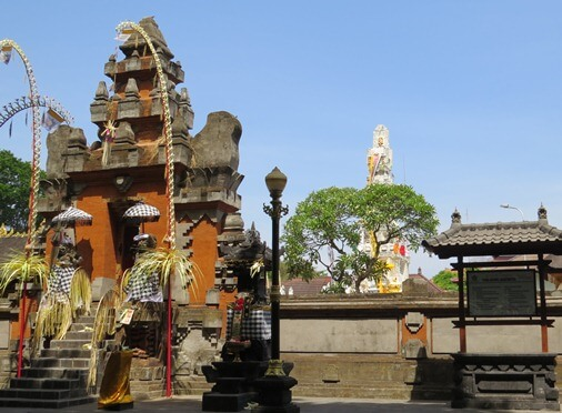Jagatnatha Temple Bali Denpasar is strategically located inwards the metropolis centre BaliBeaches: Jagatnatha Temple Bali Denpasar