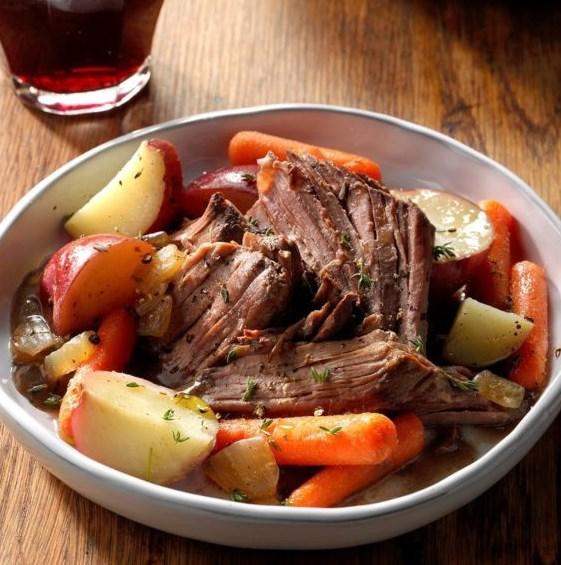 Melt-in-Your-Mouth Pot Roast #Dinner #InstantPot