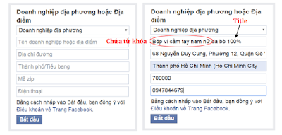 SEO fanpage facebook hiệu quả