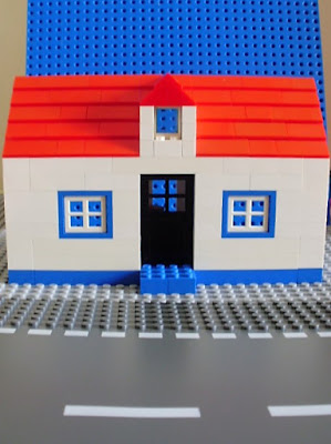 MOC LEGO Casa Alentejana
