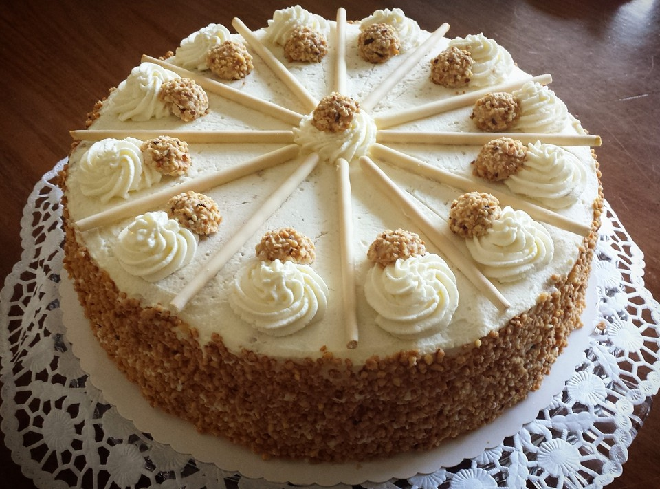 Kuchen  Torten Rezepte Giotto Torte