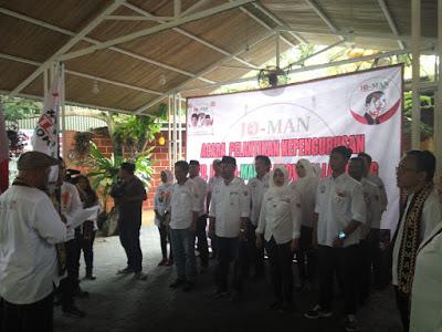 DPP Jokowi Mania Nusantara (Jo-Man) Lantik Pengurus DPD dan DPC Jo-Man Se-Provinsi Lampung
