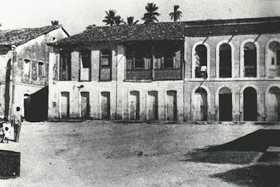 Casarões do antigo porto de São Mateus. Imagem cedida por Altair Malacarne.
