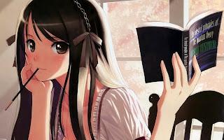 kitap okumak anime ile ilgili görsel sonucu