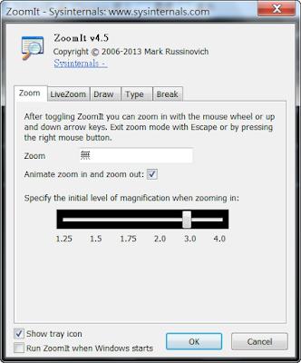 滑鼠指標畫面放大、螢幕畫線,簡報教學必備,ZoomIt V4.5 綠色免安裝版!