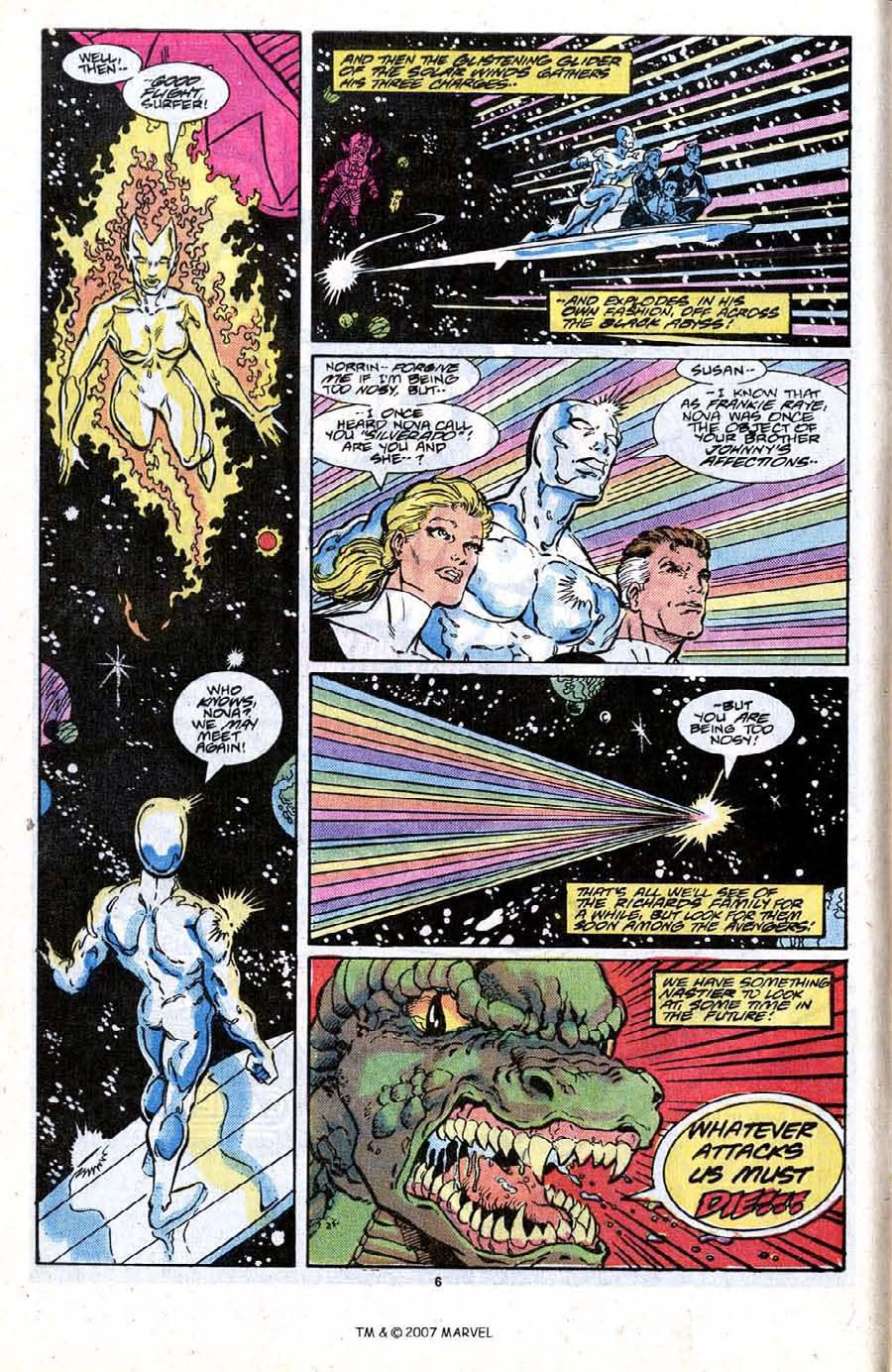 Read online Silver Surfer (1987) comic -  Issue #19 - 8