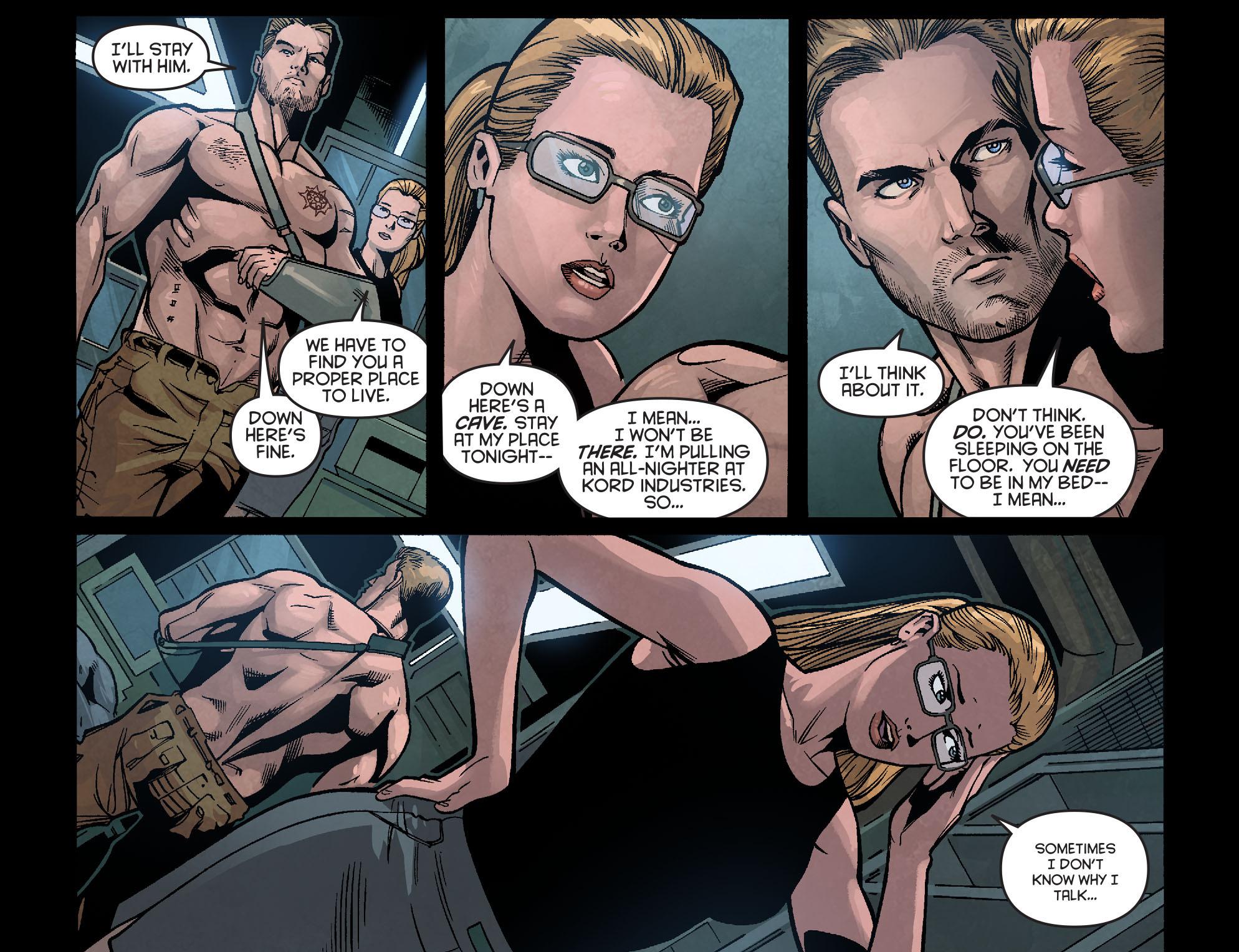 Read online Arrow: Season 2.5 [I] comic -  Issue #2 - 18
