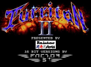 Retro Games Review Turrican II: The Final Fight