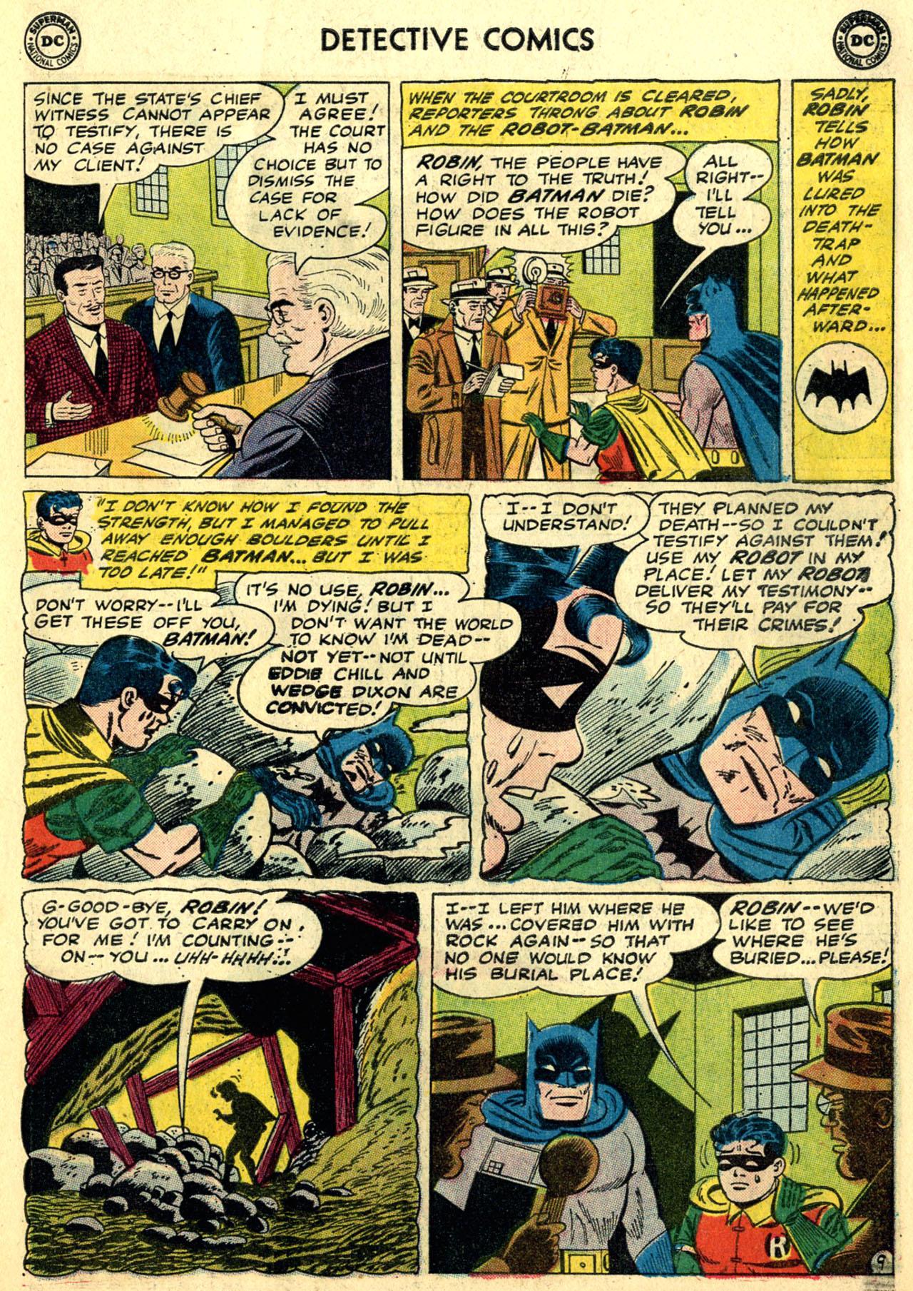 Detective Comics (1937) 281 Page 10