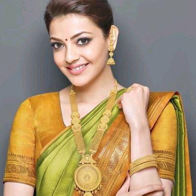 Kajal Aggarwal Gold Necklace