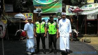 Merawat Kebhinnekaan, Babinsa Koramil 03/GP Bantu Pengamanan Giat Ibadah Odalan Pura Candra Prabha Jakarta  Barat