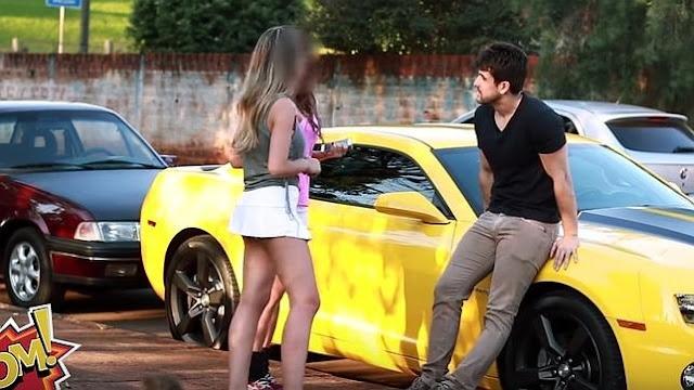 5 vídeos que demuestran que TODAS las mujeres se venden ante un buen carro