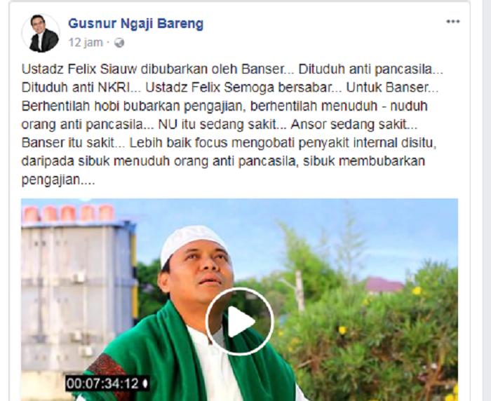 """Jawaban """"Mengejutkan"""" Gus Yaqut Saat Dimention Video Sugi Nur"""