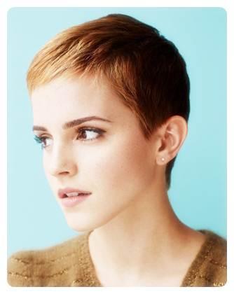 Rambut Pendek Emma Watson