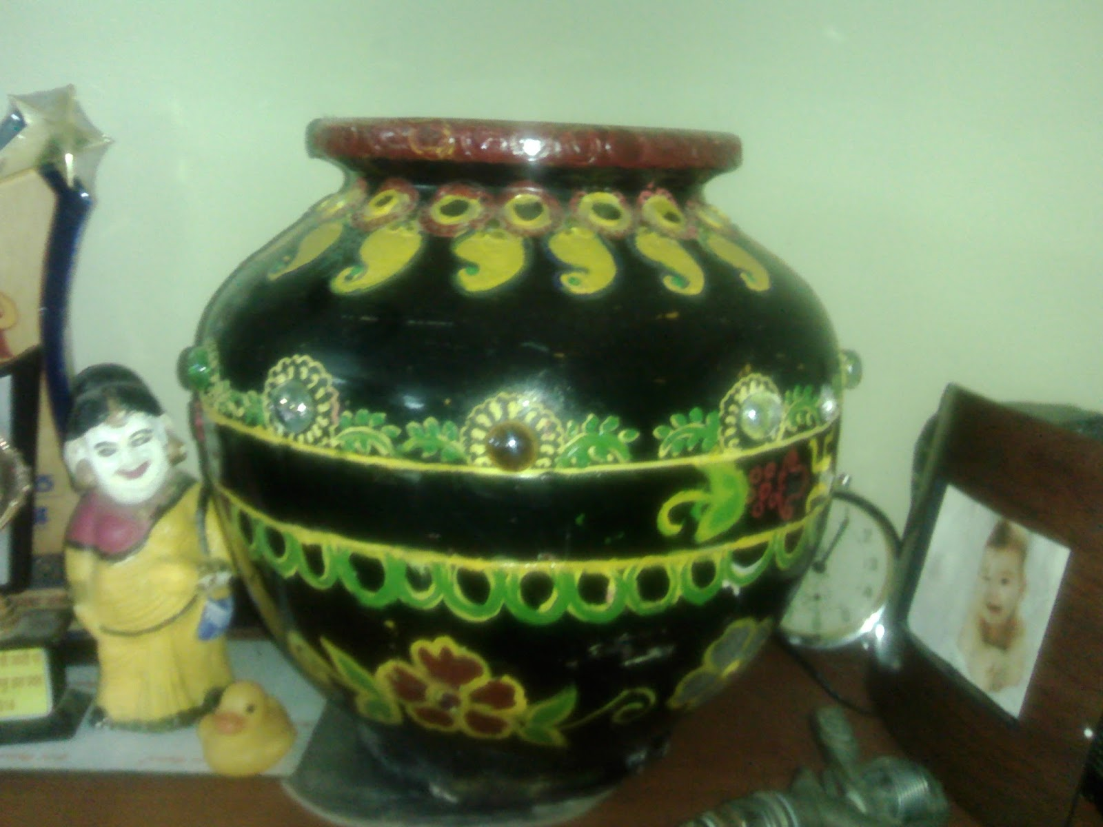 Idea Of Pot Decoration Indian Art Collection