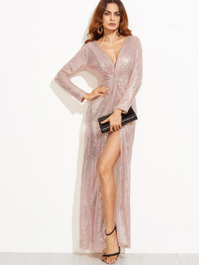 cheap sequin maxi dress