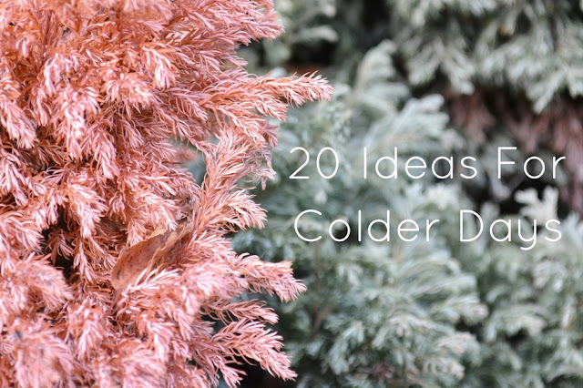 Ideas For A Cold Day || Not Copper Armour