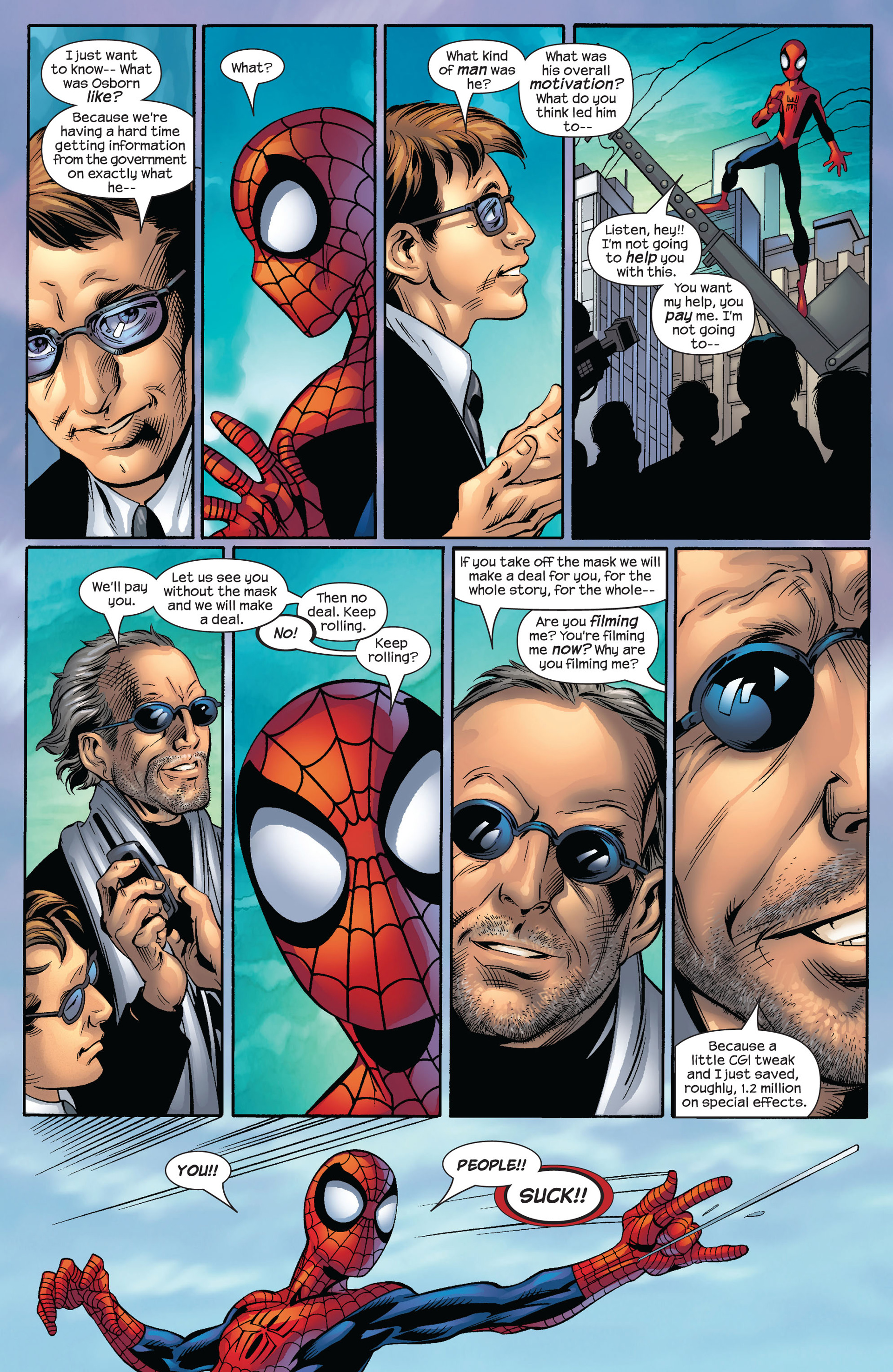 Read online Ultimate Spider-Man (2000) comic -  Issue #54 - 18