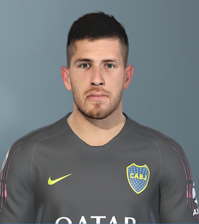 PES 2019 Agustín Rossi (Boca Jrs) face by Facemaker SeanFede