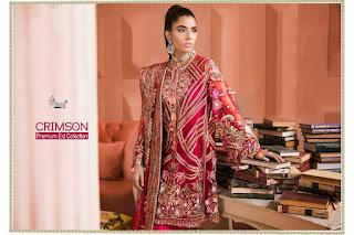 Shree fab Crimson Premium Eid Collection pakistani Suits