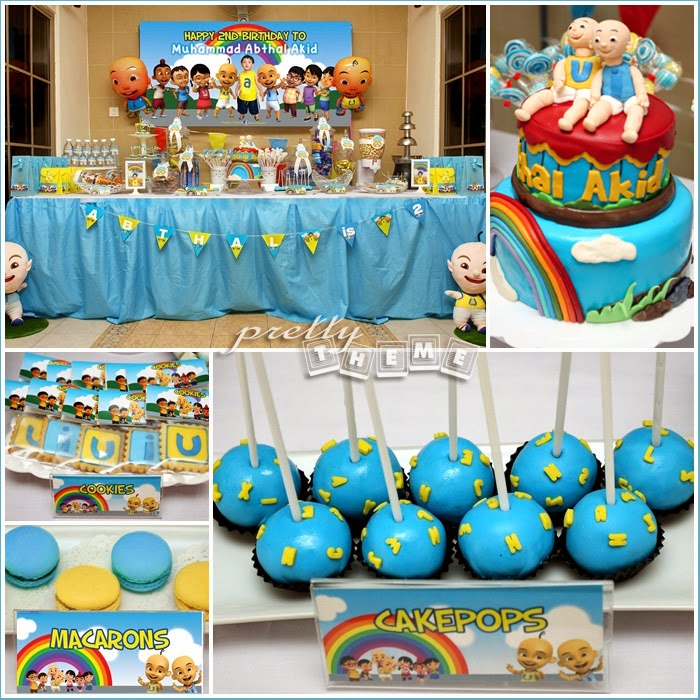 Pretty Theme Event Planner Birthday Party Theme Upin Ipin