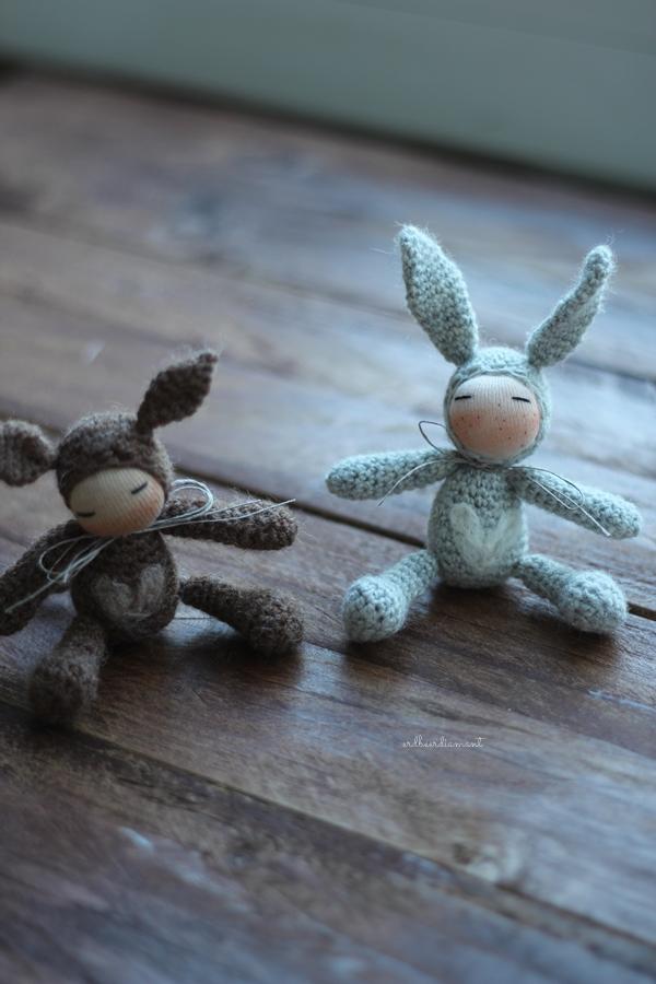 Seelchen| erdbeerdiamant| handmade doll