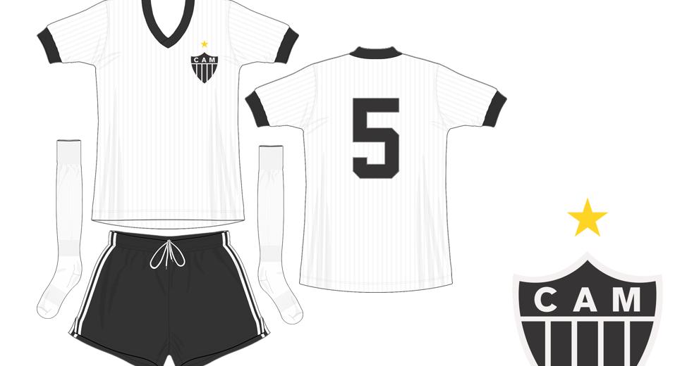 Kit Design, by eroj: 1980 Atlético MG (Home e Away)