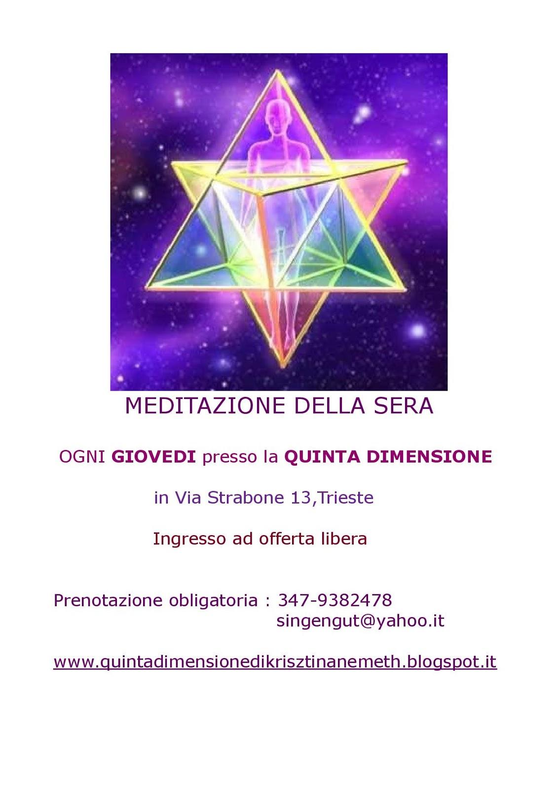 Quinta Dimensione: Meditazione della Sera con la tecnica ...