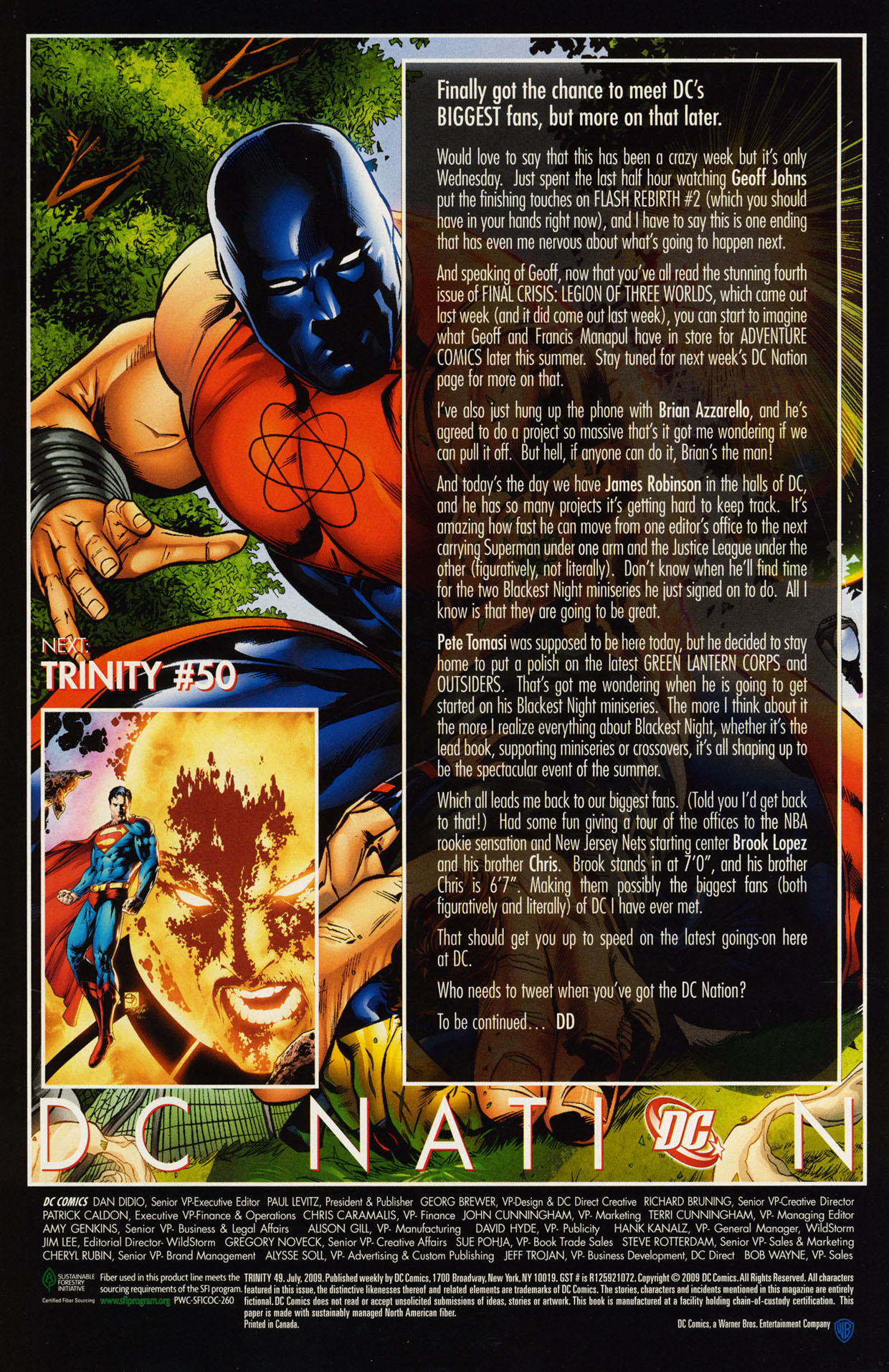Read online Trinity (2008) comic -  Issue #49 - 30