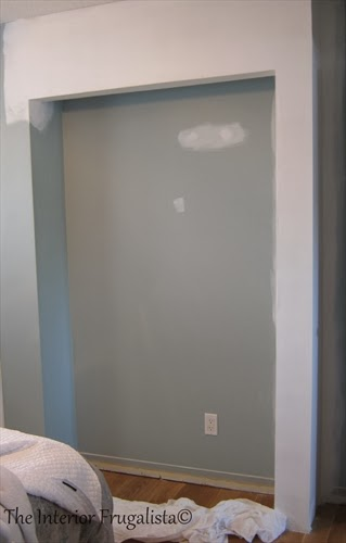 Prepping the Master Bedroom Closet Expansion for paint
