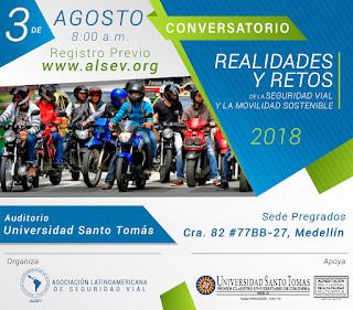 CONVERSATORIO REALIDADES Y RETOS DE LA SEGURIDAD VIAL Y LA MOVILIDAD SOSTENIBLE