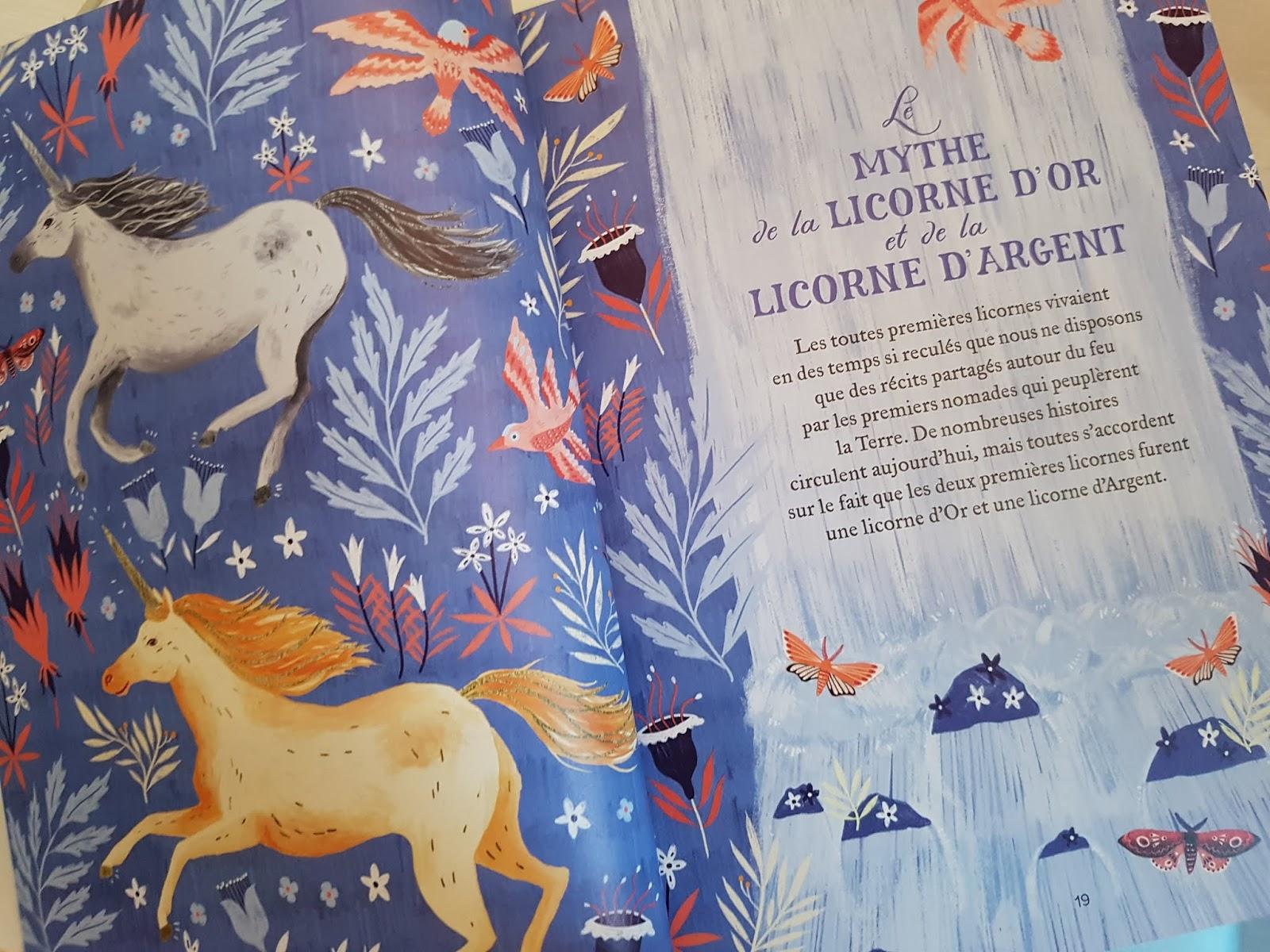 Sous Le Feuillage Le Grand Livre Des Licornes Manuel
