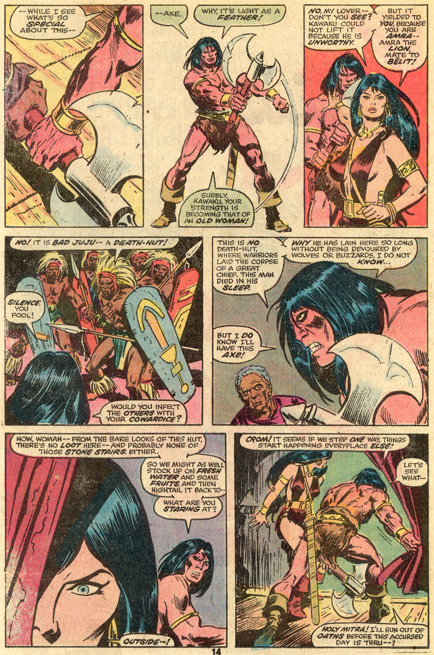 Conan the Barbarian (1970) Issue #65 #77 - English 9
