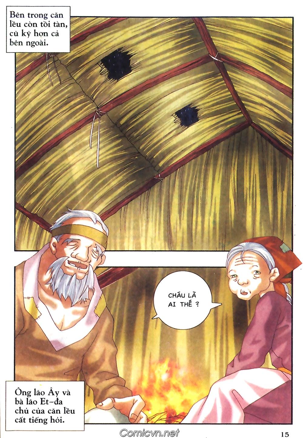 Thần thoại Bắc Âu - Chapter 38: Sứ mệnh đặc biệt - Pic 16