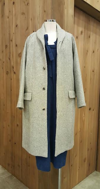 COSMIC WONDER【コズミックワンダー】ケンピルメルトンウールのコート