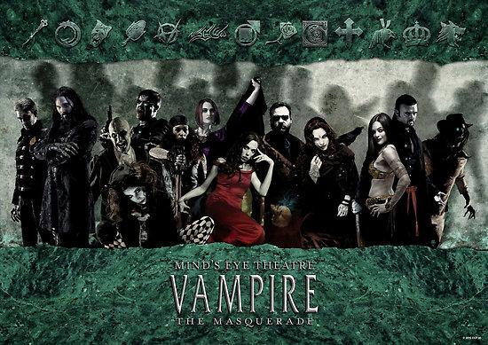 Arquétipos de Personalidade para Vampiro: A mascara