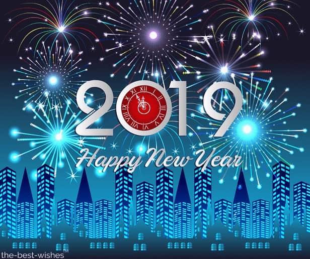 beautiful new year wishes 2019