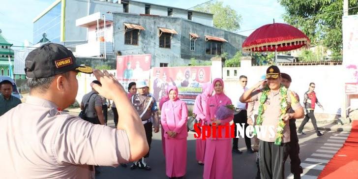 Kapolda Sulsel dan Ketua Bhayangkara Kunjungan Kerja ke Polres Soppeng