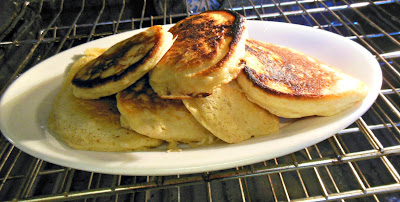 Small batch pancake recipe, using your own homemade self rising flour!