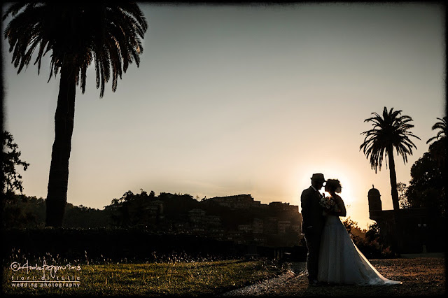 foto matrimonio parco Arenzano