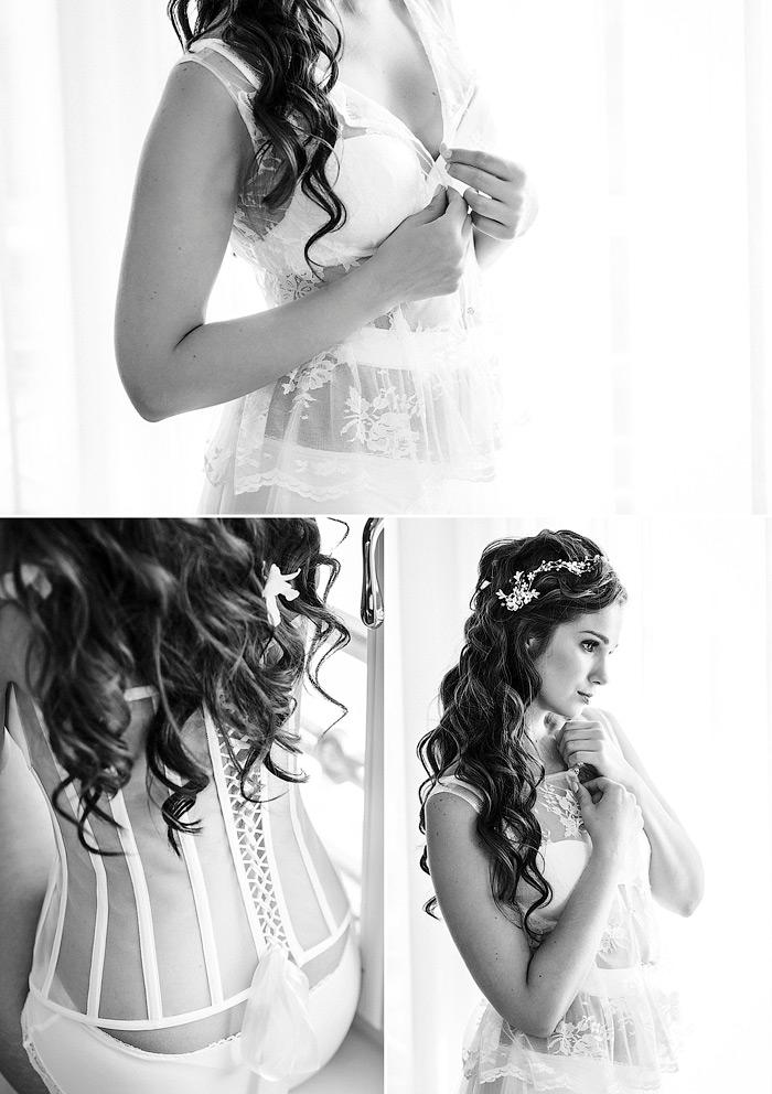 Inspirationen für eine Braut Boudoir Shooting im Luxus Hotel.