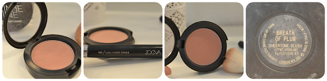 Mac Powder Blush Breath Of Plum Zoeva Blush Brush