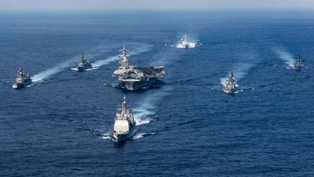 USS Carl Vinson não estava viajando para a Coreia do Norte como a Casa Branca alegou