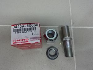 Phụ tùng xe tải Hino WU342- Bu lông tắc kê Hino WU342-90942-02071