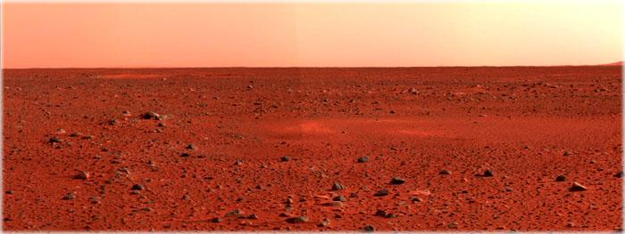 por que Marte é vermelho