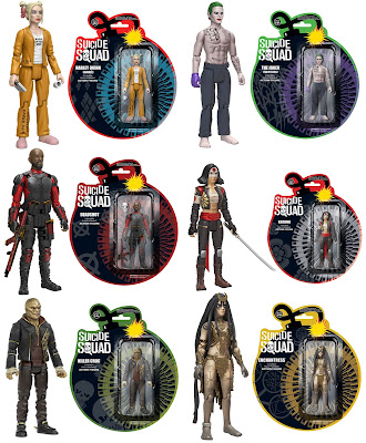 "Suicide Squad 3.75"" Action Figures by Funko"