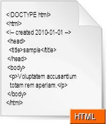 html basic format